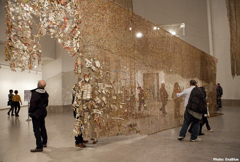 Gravity and Grace Monumental Works by El Anatsui, Brooklyn Museum 30