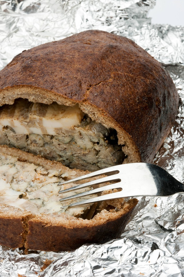 Kuopio is famous for its Kalakukko, fish baked in rye bread.
