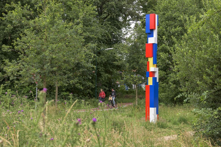 '1917' by Boris  Tellegen, located on Cycle Route De  Stijl