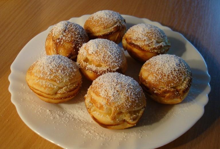 Aebleskiver danish pastries