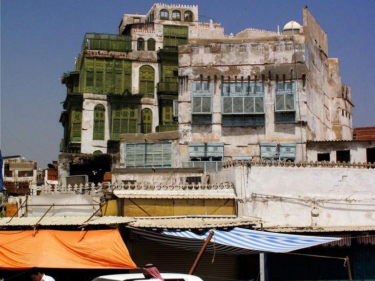 A building in Al Balad