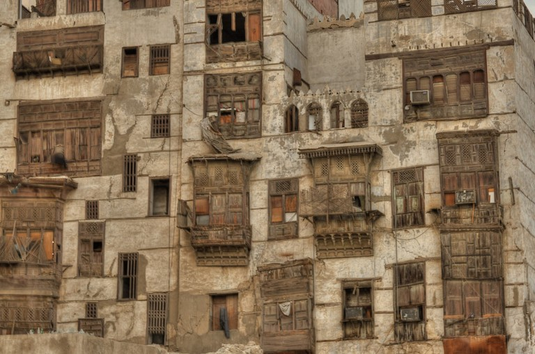Old buildings with the distinctive embedded wooden beams have come to symbolise Balad