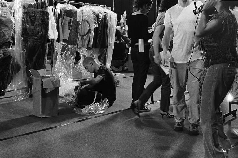 Alexander McQueen backstage