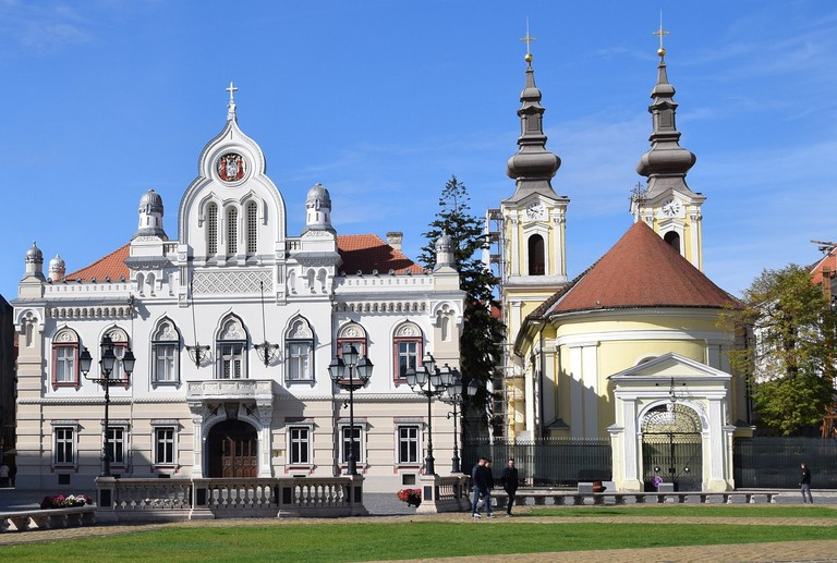 Timisoara is known for its art nouveau buildings