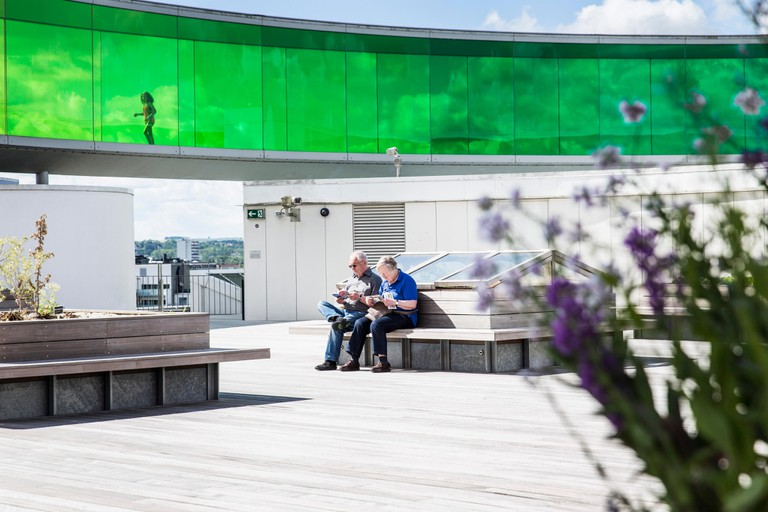 ARoS-Museum-Your Rainbow Panorama-Roof Pavilion