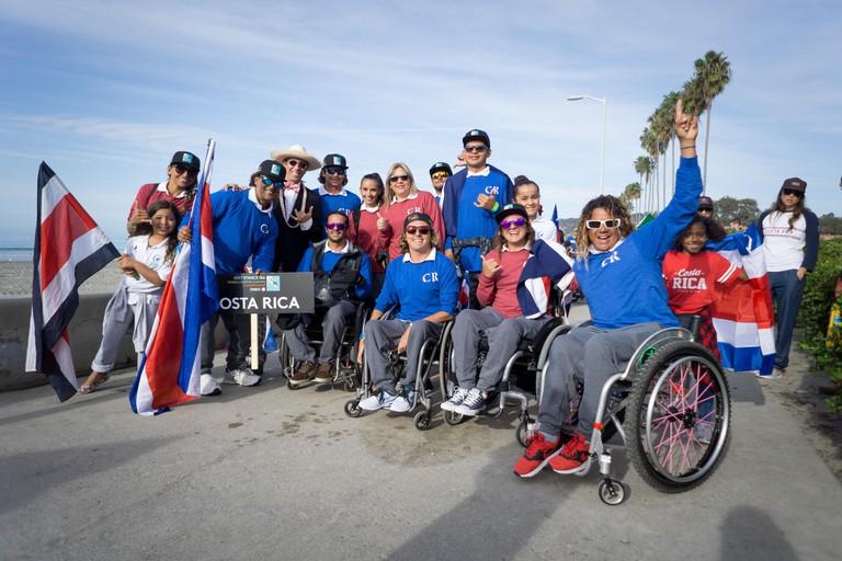 Surf team of Costa Rica
