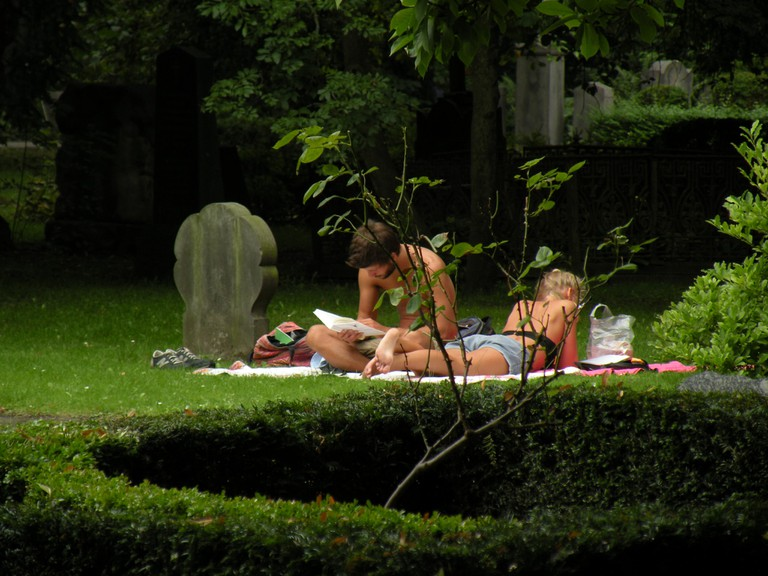 Assistens Cemetery-Burial Site-Copenhagen-Hans Christian Andersen-Kirkegård