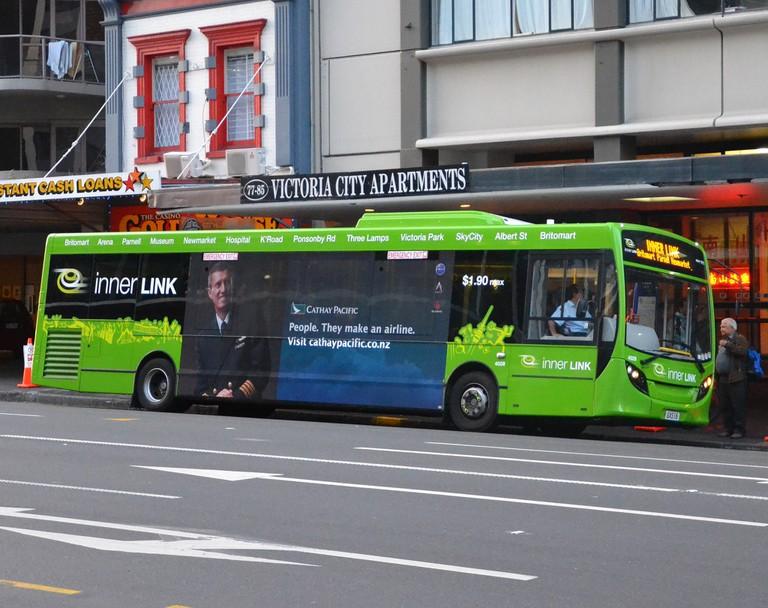 Auckland bus