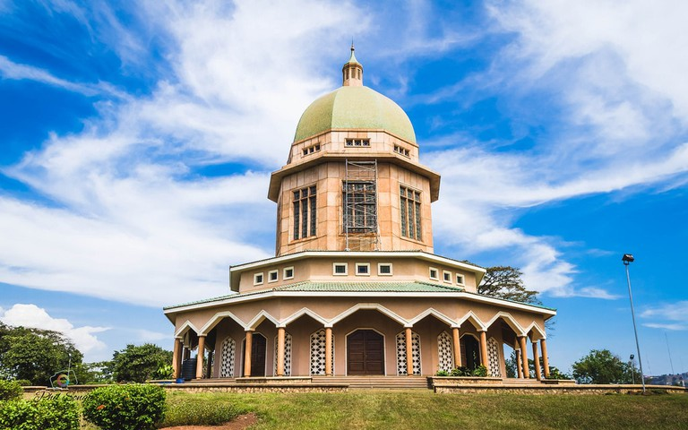 Bahai Temple on Kikaya Hill in Kampala