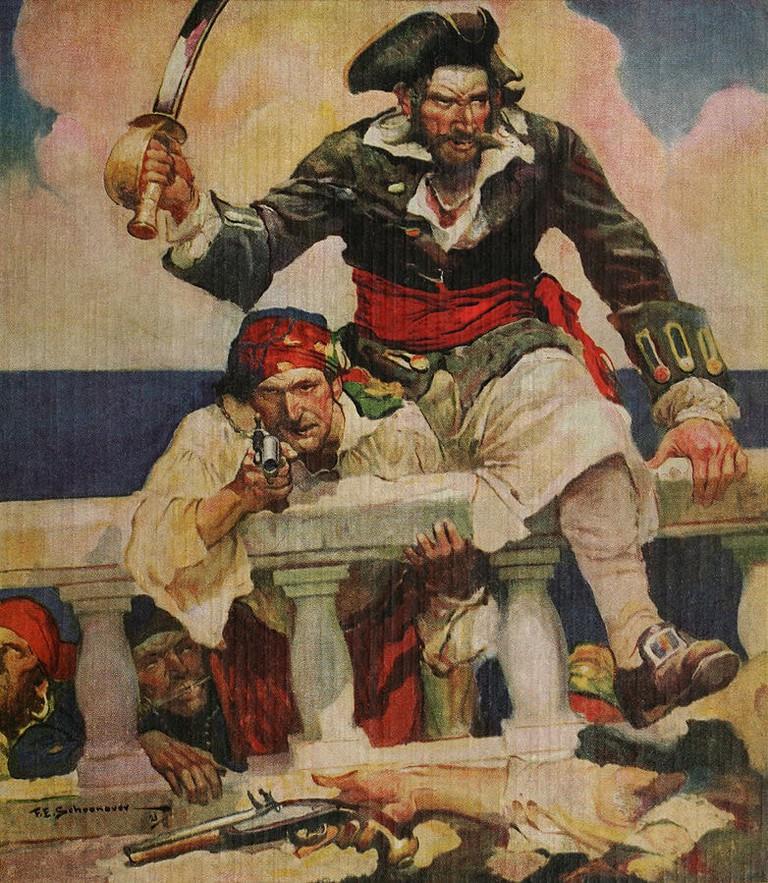 Blackbeard, Buccaneer by Ralph D. Paine, 1922