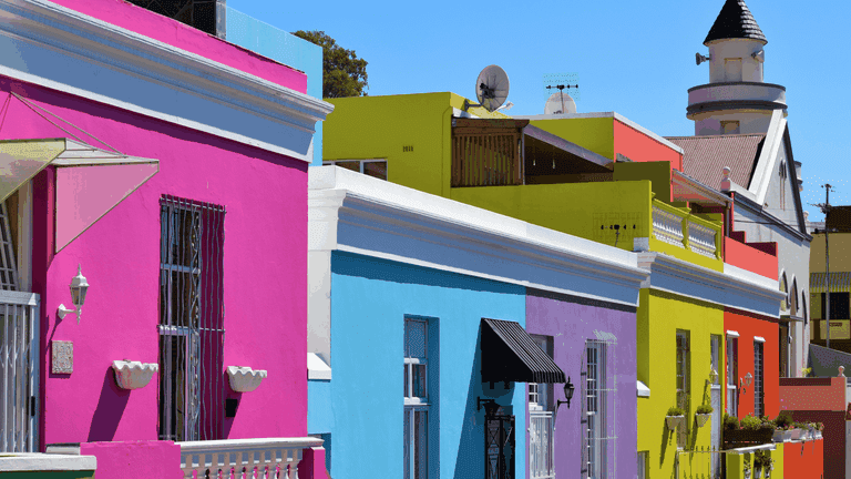Cape Town's colourful Bo-Kaap is saturated in culture