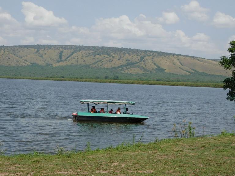 Boat safari in Lake Mburo National Park