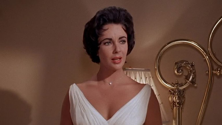 Elizabeth Taylor as Maggie in 'Cat on a Hot tin Roof'