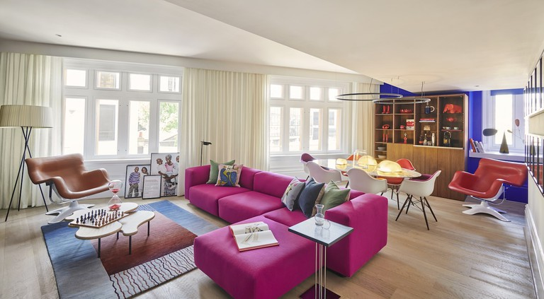 The Conran-designed (Andaz)RED Suite