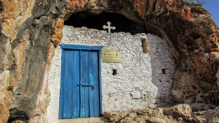 cave church protaras