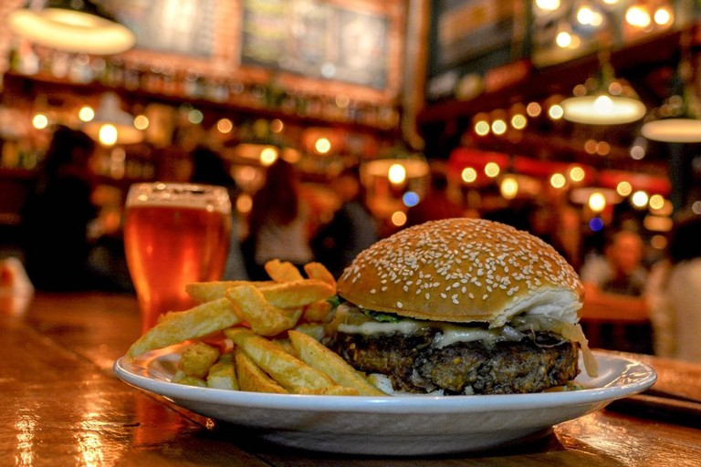 The best burger in Mar del Plata, and craft beer
