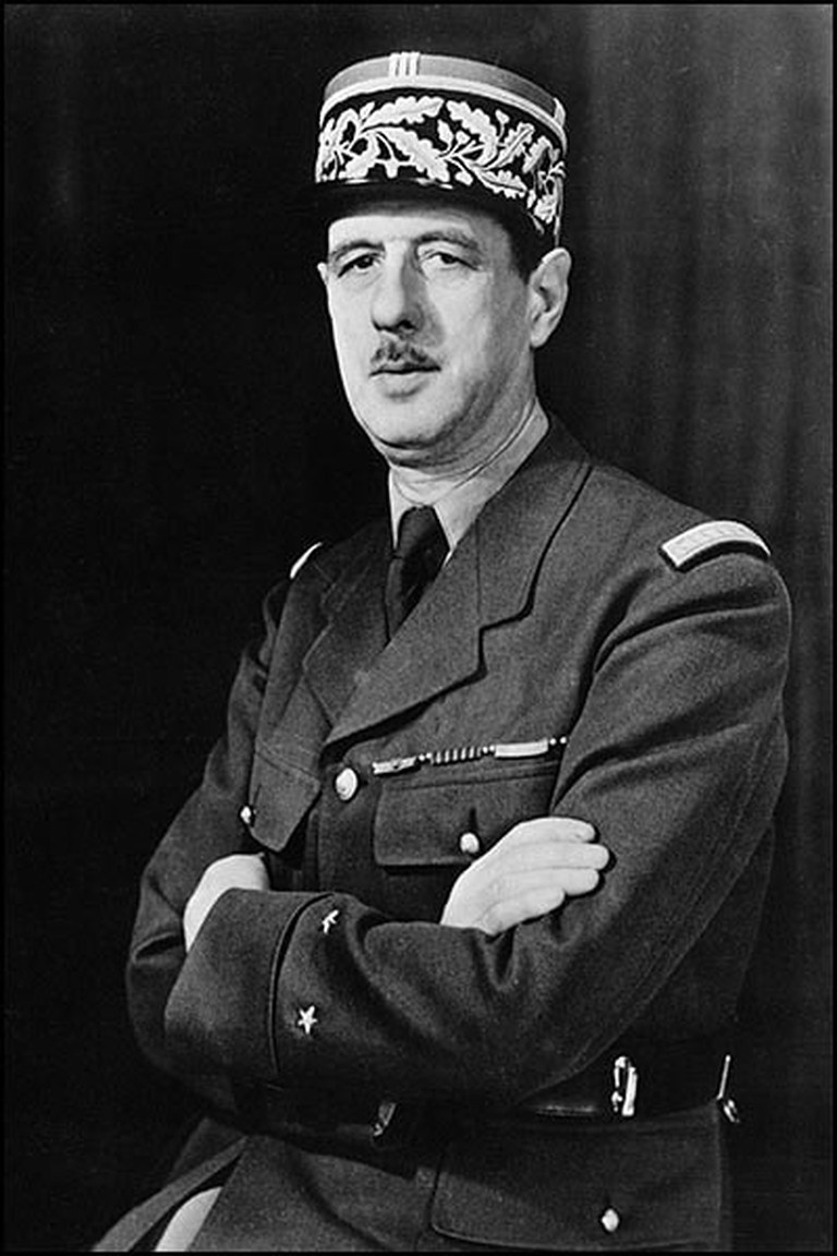 Charles de Gaulle during WWII