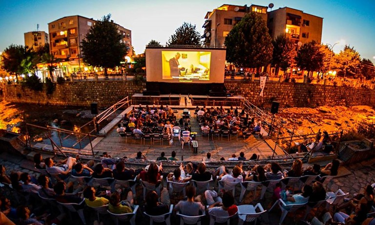 The cinematographic event DokuFest in Prizren