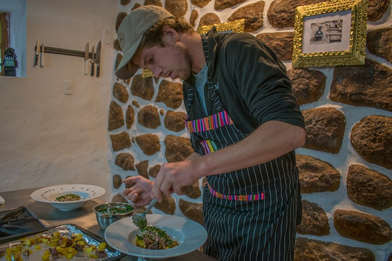 Cook up your own Andean/Peruvian three-course meal under the guidance of expert chef Christian Manrique