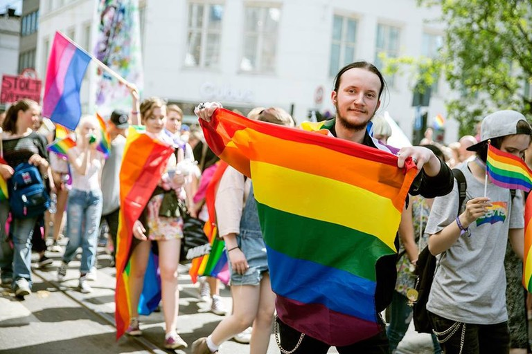 During last year's Oslo Pride
