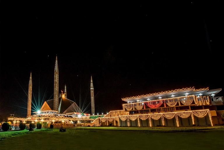Faisal Mosque Eid