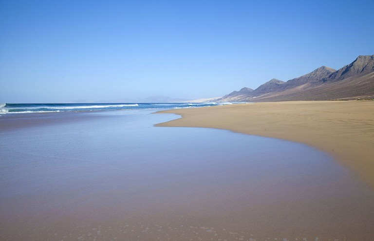 Playa de Cofete, Fuerteventura, Canary Islands