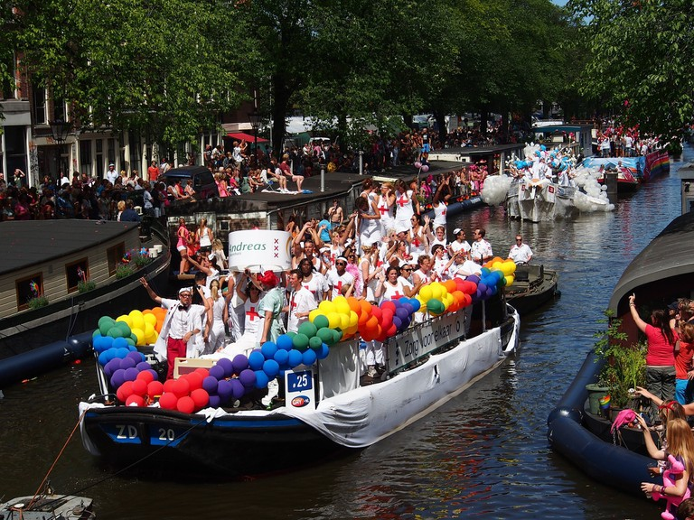 Amsterdam's Pride celebrations conclude on the first weekend of August
