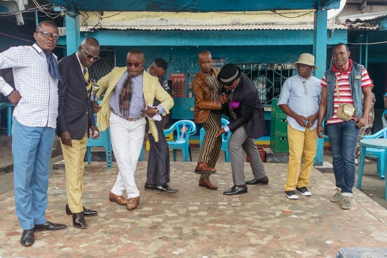 Les Sapeurs in Brazzaville, Republic of Congo