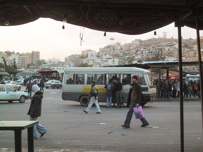 Getting_around_Transportation_Jordan_minibus_Amman