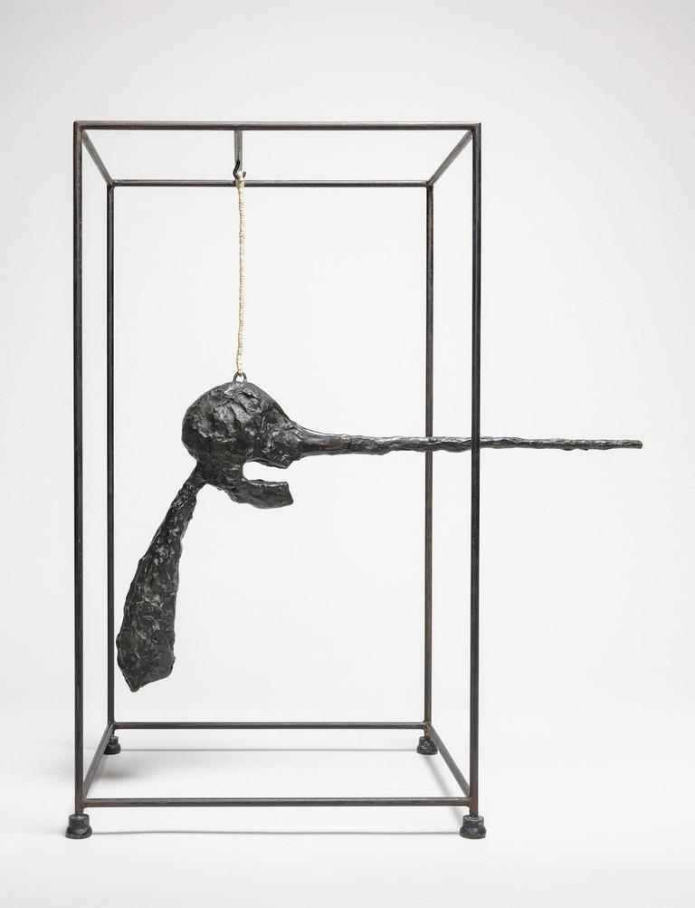 Alberto Giacometti, Nose ( Le nez ), 1947 (cast 1964)