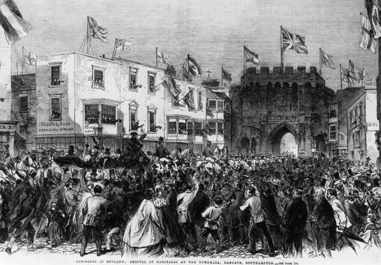 Garibaldi In England