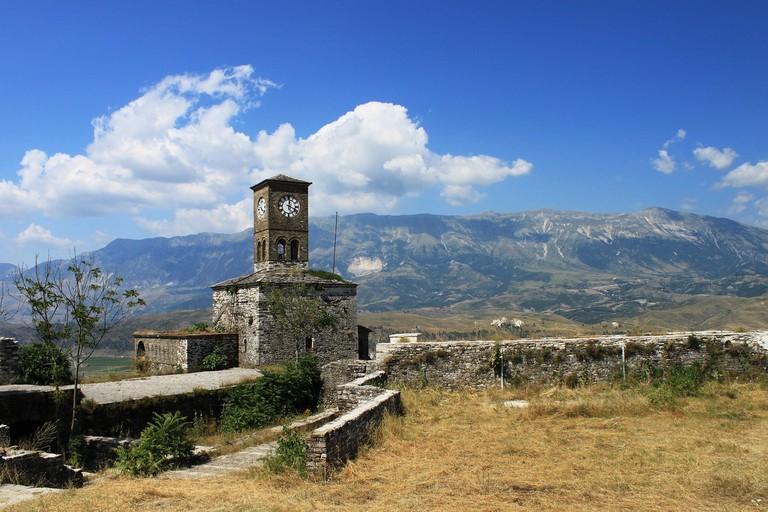 The castle of Gjirokastër is the largest of Albania