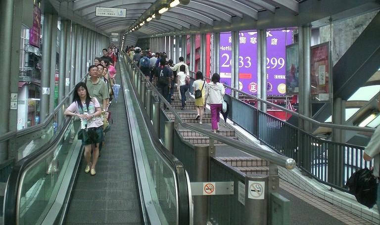 Hong Kong Escalator 1