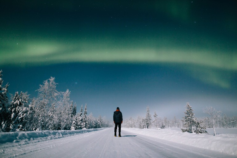 Northern Lights app to visit Finland.