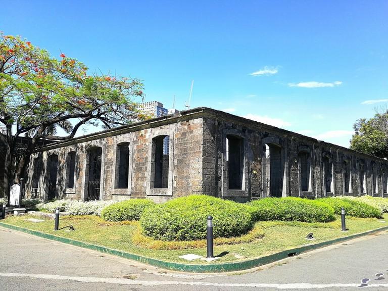 A part of Fort Santiago