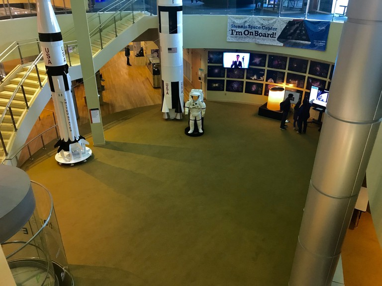 Inside the Infinity Science Center