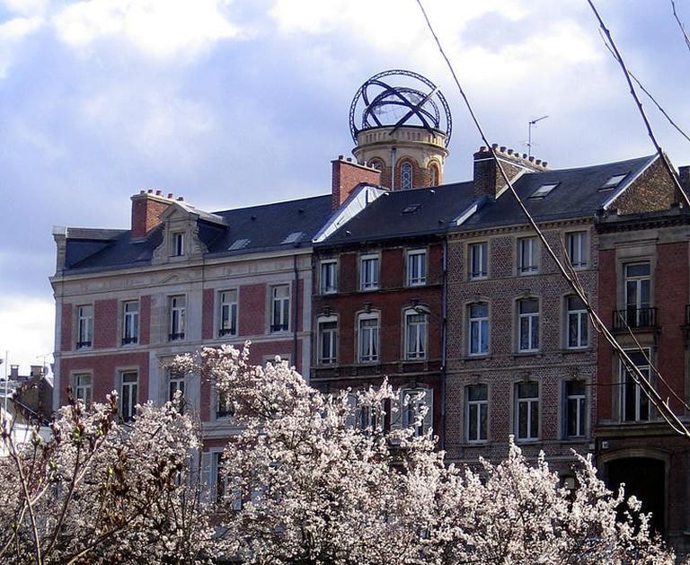 Jules Vernes tower Amiens