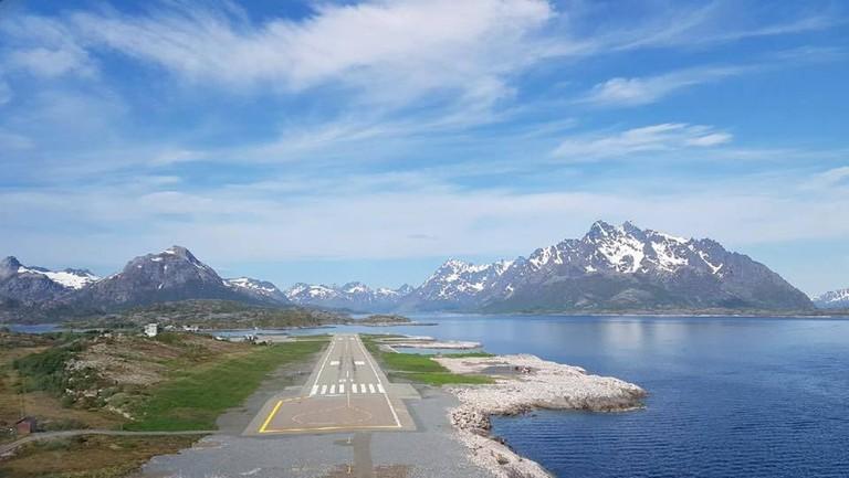 Landing strip at Svolvær