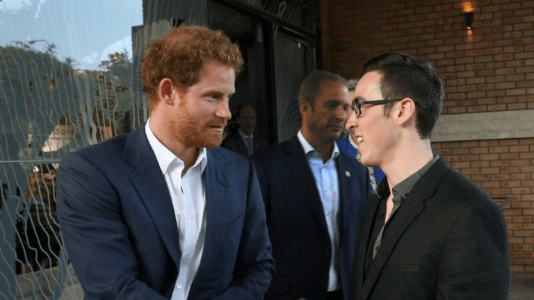 Prince Harry and Nadav
