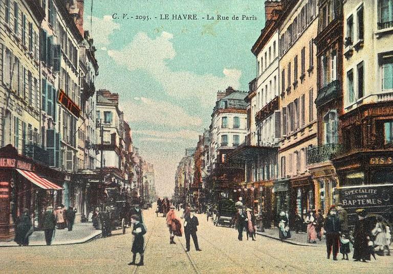 Le Havre Rue de Paris 1910
