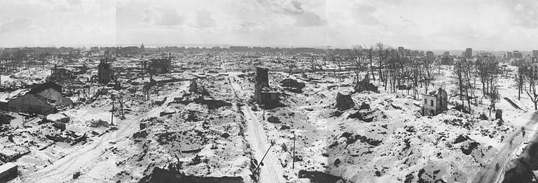 le havre winter 1944 1945