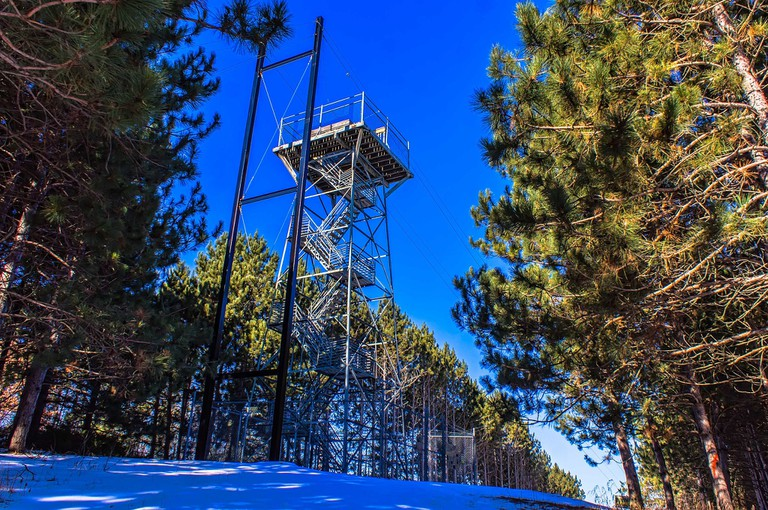 Lookout Tower at Brown County Reforestation Camp | © Chris Rand/WikiCommons