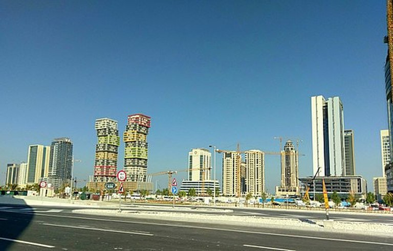 Lusail City is currently in development