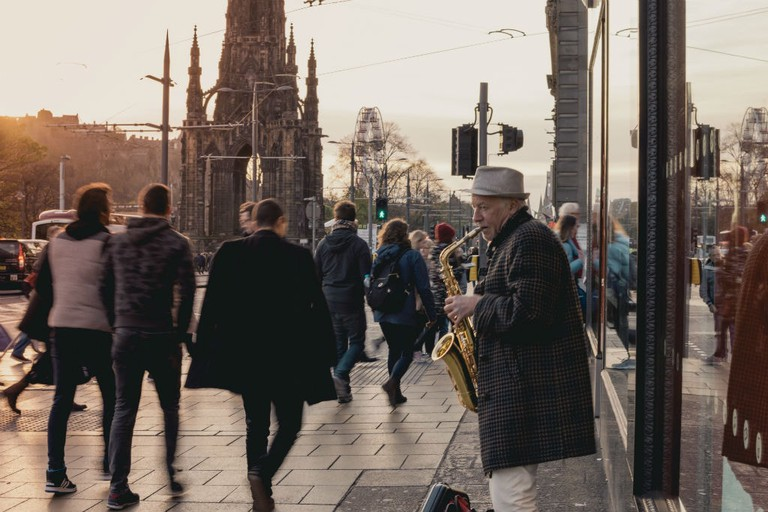 Jazz Musician, Edinburgh, Scotland
