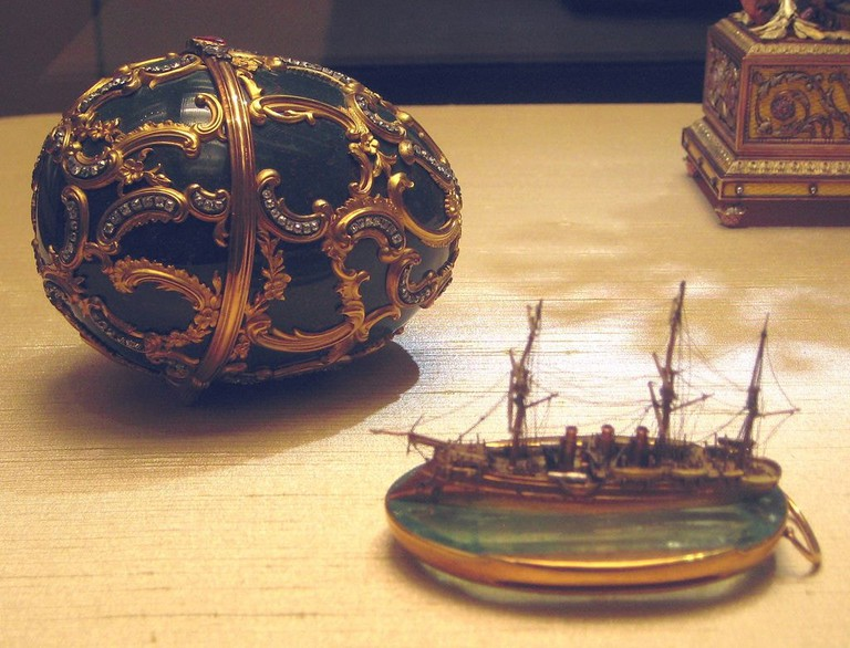 Memory of Azov Fabergé Egg