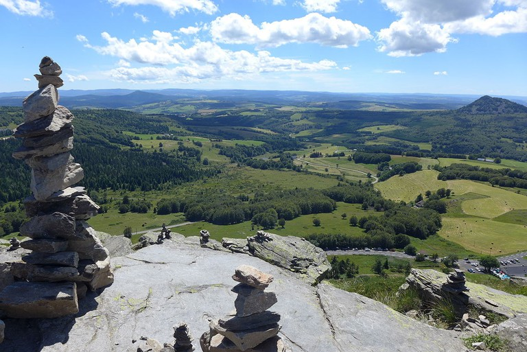 View from Mont Gerbier-de-Jonc, Ardèche