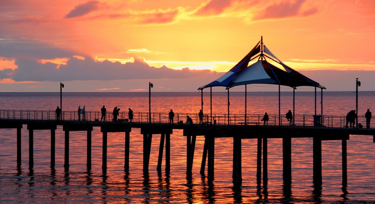 Noarlungha Pier in Adelaide © Les Haines / Flickr