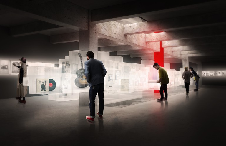 Olson Kundig - Conceptual renderings from the design competition - 1