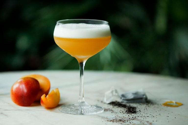 One of the seasonal cocktails at Torggata Botaniske, Courtesy of Torggata Botaniske