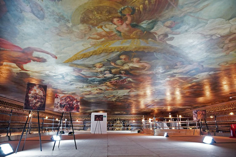 Painted Hall Ceiling Tours © ORNC, credit Andrew Thompson ps